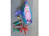 Toy girls Princess birthday Disney boat