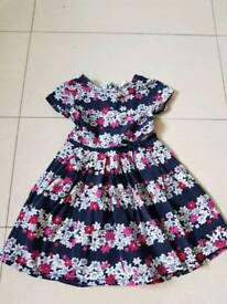 Girls rjr dress age 4-5 year