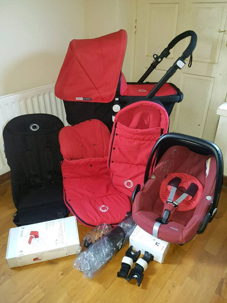 Bugaboo Cameleon 3 Ltd Edition Complete Travel System plus Extras