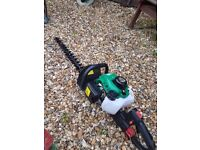 PETROL HEDGE CUTTER (never used) LONG BLADE