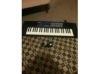 CASIO CTK-120 Electronic Keyboard 49 Keys 2 Speakers 100 Tones Rhythms