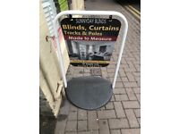Swinger Pavement Swing Sign. Ideal for any shop.
