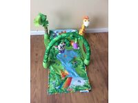 Fisher Price Rainforest 1-2-3 Musical Gym/ Baby play mat in good condition