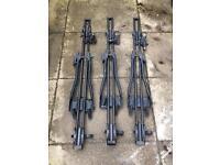 3x bike racks