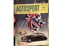 Autosport magazines 1953-1960 (59 copies)