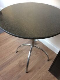 Small marble dining table for sale