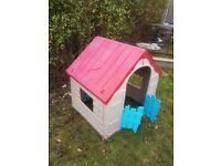Toy house for outdoors