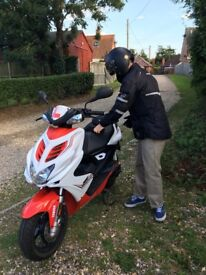 Yamaha Aerox 49cc 2014 Moped VGC ( de-restricted)