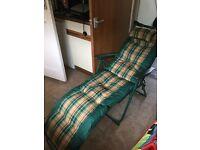 2x Garden chair recliners