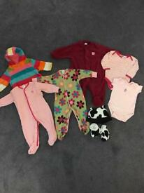 Girls Bundle Age 3-6 months