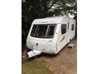 Swift Charisma 550 fixed bed caravan 2010 with motor mover