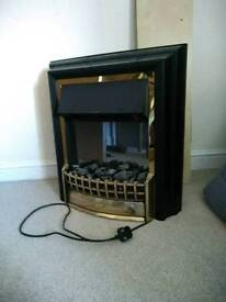 Electric fire / fireplace insert