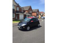 13 PLATE 2013 FORD KA ZETEC 1242cc VERY LOW MILEAGE 40 k FULL MOT CHEAP ROAD TAX ONLY £30