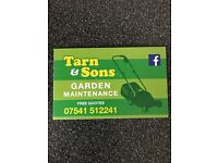 Tarn & sons garden maintenance