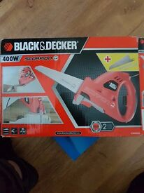 Black and Decker scorpion new in the box sell for £20