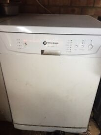 Full size White Knight dishwasher for sale