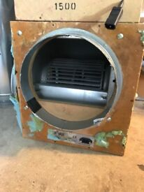 "Cheshunt Hydroponics Store - used 12"" 2500m3 acoustic wooden box fan"