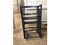 9 inch racks, ideal for small studios. In Stokenchurch Bucks.