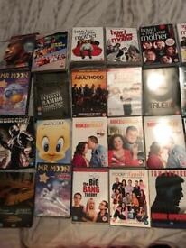 Mixture of dvds 76 in total