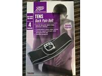 Boots Tens Back Pain Belt with Batteries