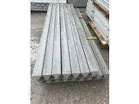 NEW ~ CONCRETE REINFORCED FENCING POSTS ~ 8FT