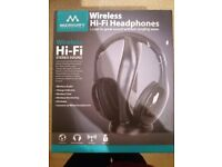 Wireless headphones for tv, games console and more. Unwanted gift.