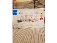 3 new MAM bottles