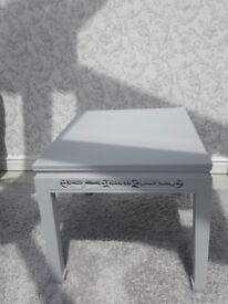 Grey coffee side table