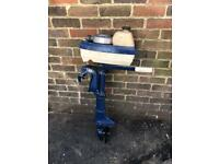 Evinrude outboard motor for spares or repair barn find yacht boat dingy fishing