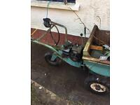 Motorised barrow