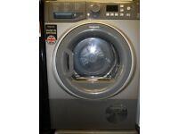 Hotpoint Aquarius Condenser Tumble Dryer - 8 KG - Graphite Grey