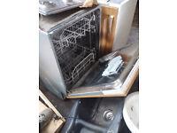 Hotpoint built in dishwasher