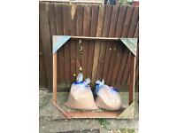 Sandpit with 2 bags of sand for free