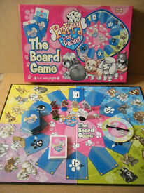 (Puppy in my pocket)The board game. By MEG 2007. Complete in great condition.