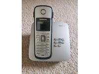 Siemens gigaset colour cordless phone and answering machine