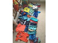 Baby boy summer holiday clothes bundle 9-12 months