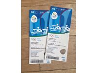 Rio Olympics pair of Rowing tickets 8th August
