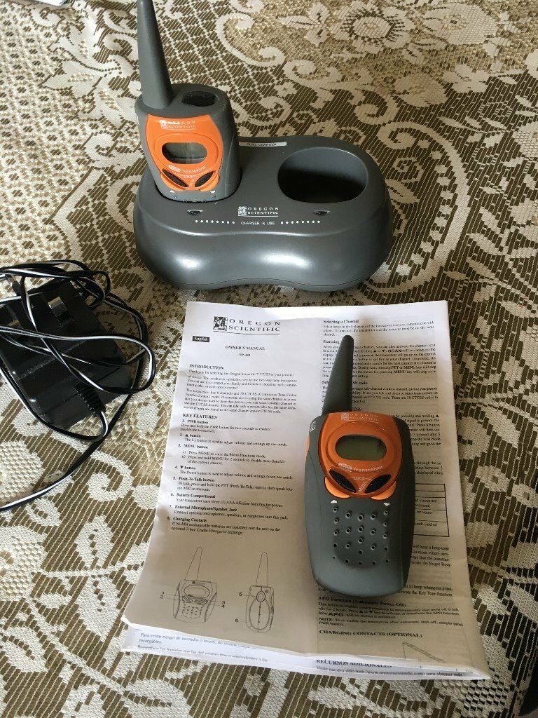 Cobra Walkie Talkies Charging Instructions