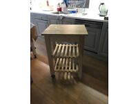 Wooden Ikea kitchen trolley x 4 (separate or all together)