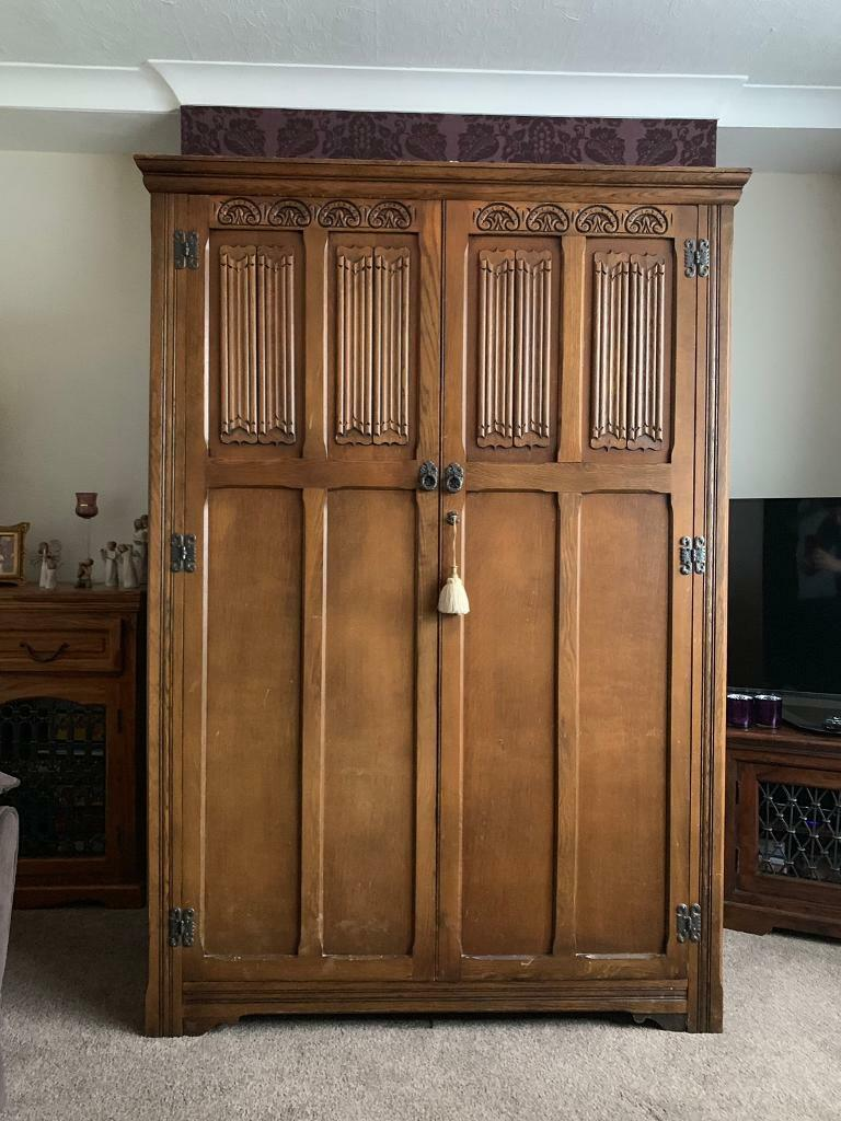 outlet store dfda7 8b77c Wood Bros Old Charm Furniture Beautiful Ornate wardrobe | in Markfield,  Leicestershire | Gumtree
