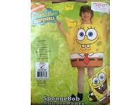 Sponge bob square pants costume.