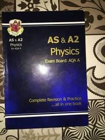 AS & A2 Physics AQA A Revision book.