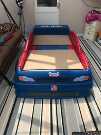 Single Size Car Bed with Ikea mattress