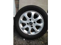 Alloys Wheel with Tyres