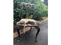 Antique Chair - perfect for upcycle project