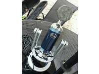 Blue digital spark microphone