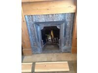 Firplace 1880s and Fire surround