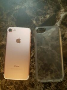 Rose gold iPhone 7