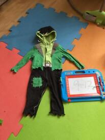 Frankenstein's monster Halloween costume