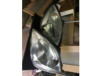 Ford Fiesta 2004 Pair Of Headlights